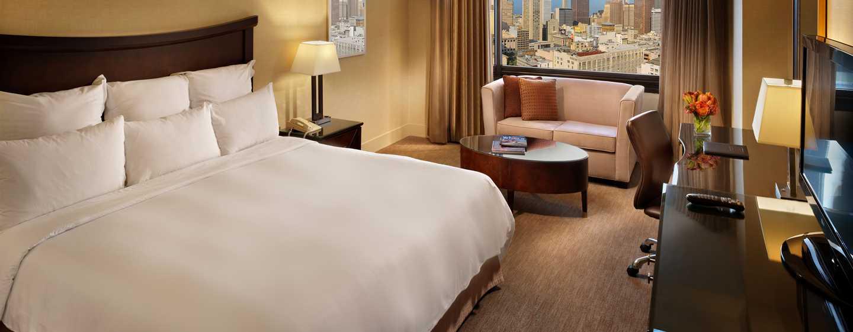 Parc 55 San Francisco - a Hilton Hotel, Stati Uniti - Camera con letto king size
