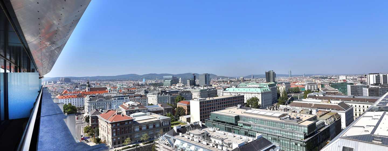 Hotel Hilton Vienna, Vienna, Austria - Vista panoramica su Vienna