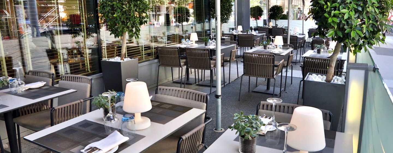 Hotel Hilton Vienna, Vienna, Austria - Terrazza del ristorante S'PARKS