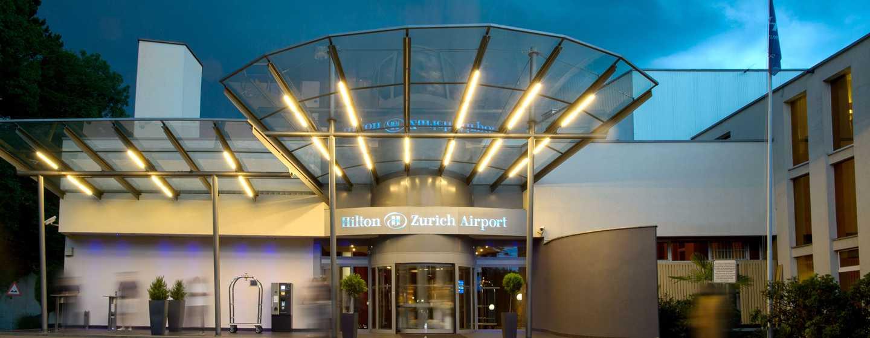 Hilton Zurich Airport, Svizzera - Ingresso principale