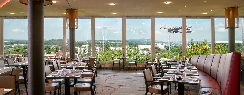 Hilton Zurich Airport, Svizzera - Ristorante Horizon10