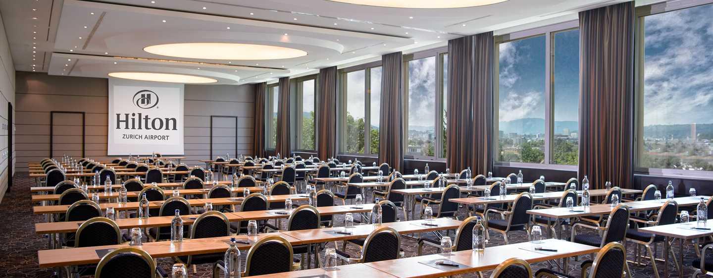 Hilton Zurich Airport, Svizzera - Sala meeting Panorama