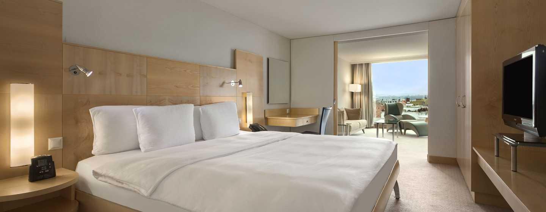 Hilton Zurich Airport, Svizzera - Suite Relaxation con letto king size