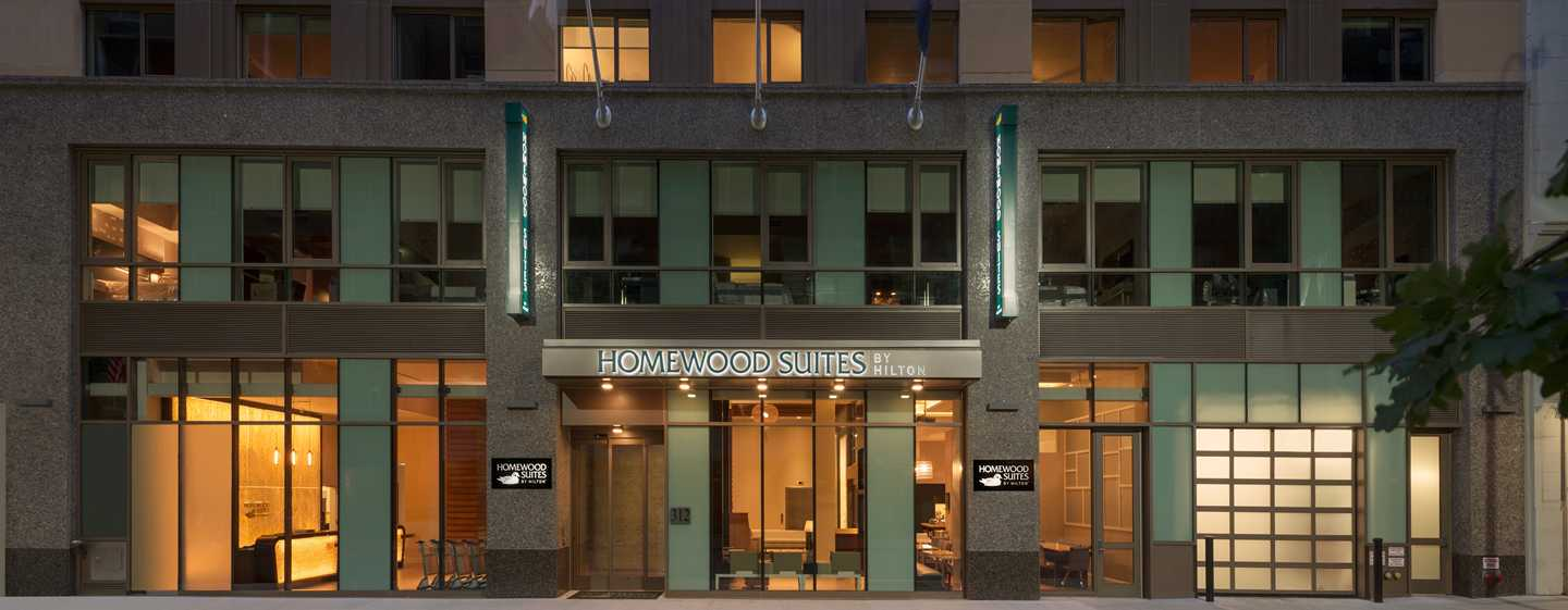 Hotel Homewood Suites by Hilton New York/Midtown Manhattan Times Square-South, NY, Stati Uniti - Esterno dell'hotel