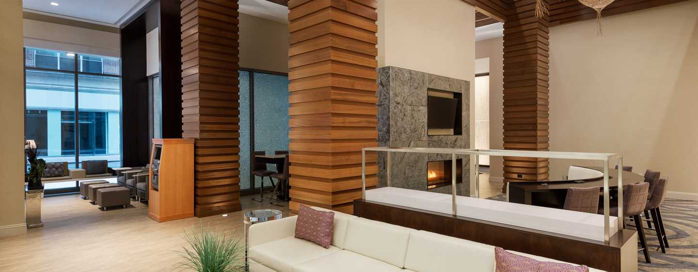 Hotel Homewood Suites by Hilton New York/Midtown Manhattan Times Square-South, NY, Stati Uniti - Lobby