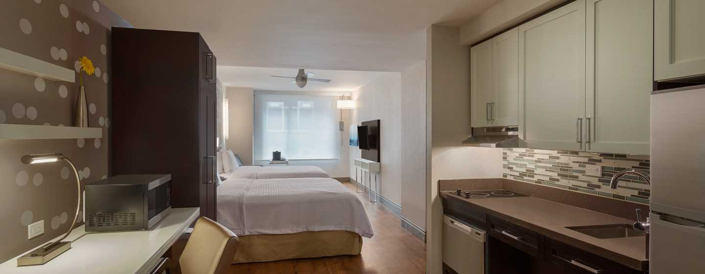 Hotel Homewood Suites by Hilton New York/Midtown Manhattan Times Square-South, NY, Stati Uniti - Studio Suite con letto queen size