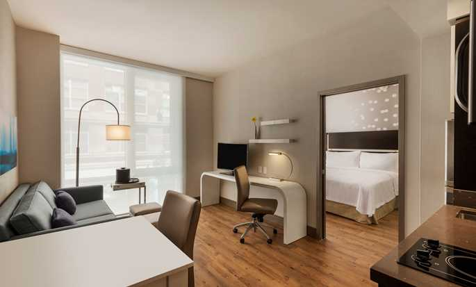 Hotel Homewood Suites by Hilton New York/Midtown Manhattan Times Square-South, NY - Studio Suite con letto king size