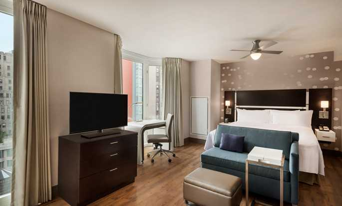 Hotel Homewood Suites by Hilton New York/Midtown Manhattan Times Square-South, NY - Studio con letto king size