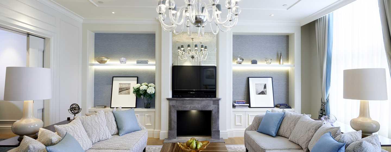 Hotel Waldorf Astoria Amsterdam - Soggiorno della suite