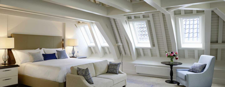 Hotel Waldorf Astoria Amsterdam - Grand Loft con letto king size