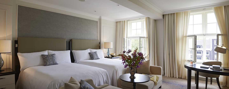 Hotel Waldorf Astoria Amsterdam - Suite con due letti matrimoniali
