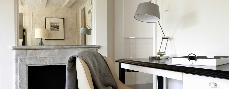 Hotel Waldorf Astoria Amsterdam - Suite - Area di lavoro