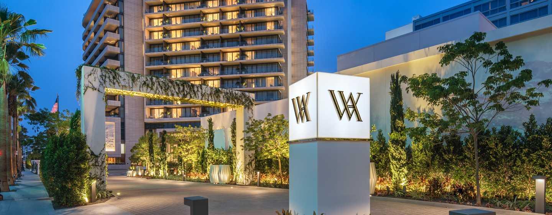 Waldorf Astoria Beverly Hills, California, Stati Uniti - Viale di accesso del WABH