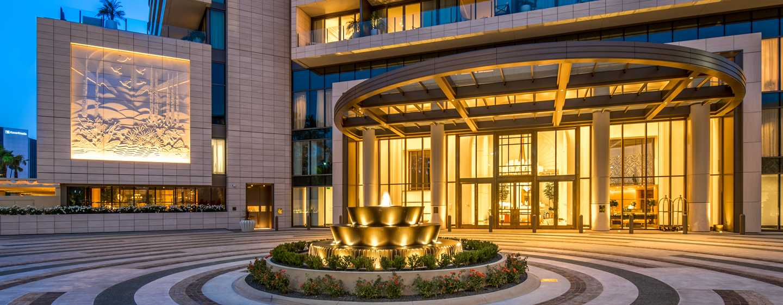 Waldorf Astoria Beverly Hills, California, Stati Uniti - Portico del WABH