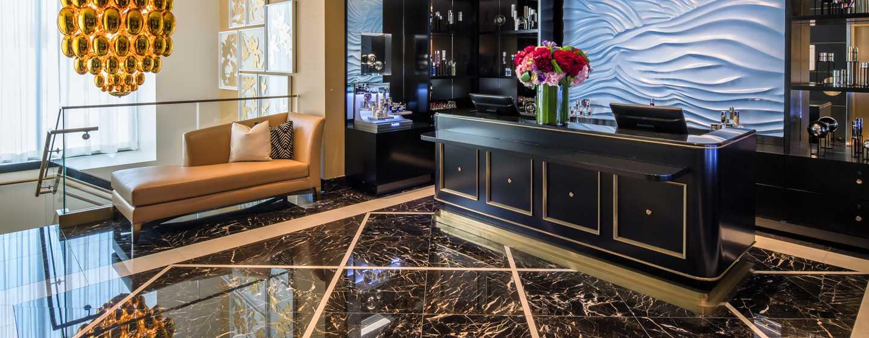 Waldorf Astoria Beverly Hills, California, Stati Uniti - Reception della spa La Prairie