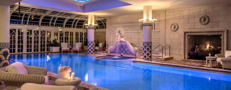 Rome Cavalieri, A Waldorf Astoria Resort, Italia - Piscina interna