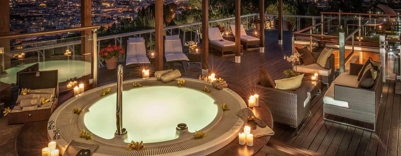 Rome Cavalieri, A Waldorf Astoria Resort, Italia - Terrazza pensile della Suite Planetarium