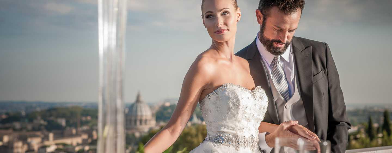 Rome Cavalieri, A Waldorf Astoria Resort, Italia - Novelli sposi