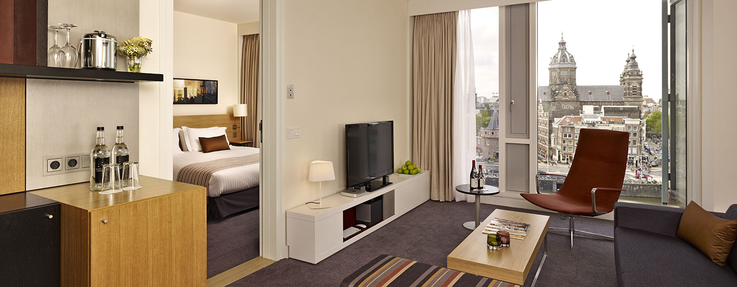 Doubletree By Hilton Hotel Amsterdam Centraal Station, Paesi Bassi - Suite City con letto king size