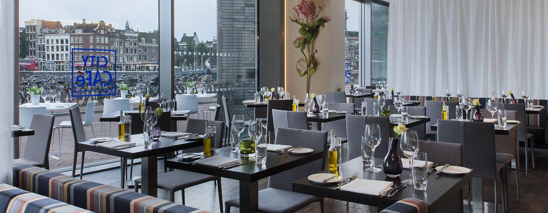 DoubleTree by Hilton Hotel Amsterdam Centraal Station, Paesi Bassi - Ristorante City Café