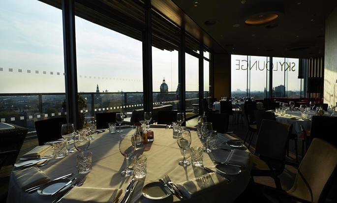 DoubleTree by Hilton Hotel Amsterdam Centraal Station, Paesi Bassi - Sky Lounge