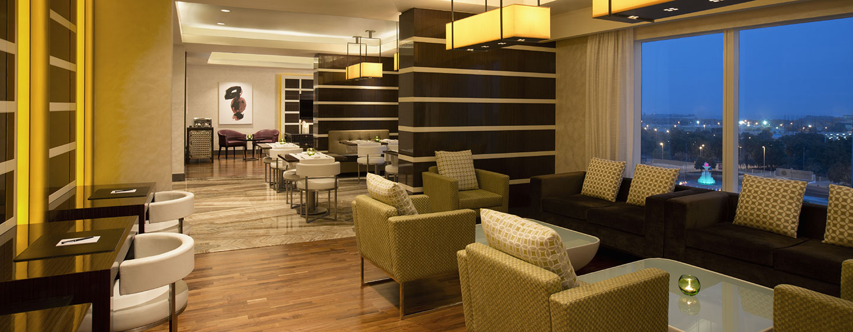 Hotel Hilton Capital Grand Abu Dhabi, EAU - Executive Lounge