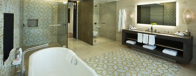 Hotel Hilton Capital Grand Abu Dhabi, EAU - Bagno della Suite Presidenziale