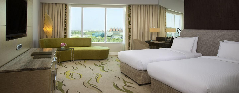Hotel Hilton Capital Grand Abu Dhabi, EAU - Camera Grand con letti separati