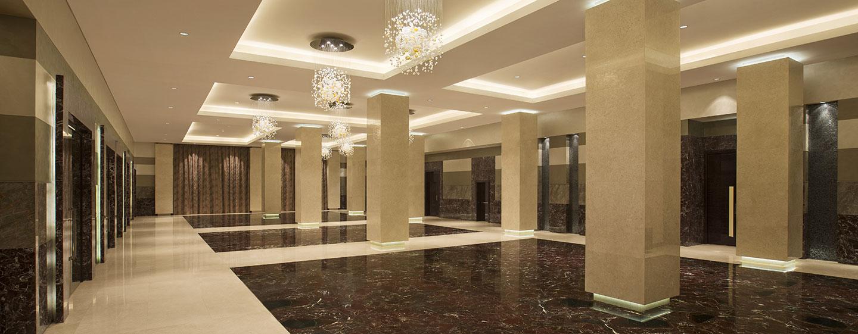 Hotel Hilton Capital Grand Abu Dhabi, EAU - Atrio