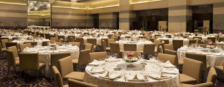Hotel Hilton Capital Grand Abu Dhabi, EAU - Salone dell'hotel