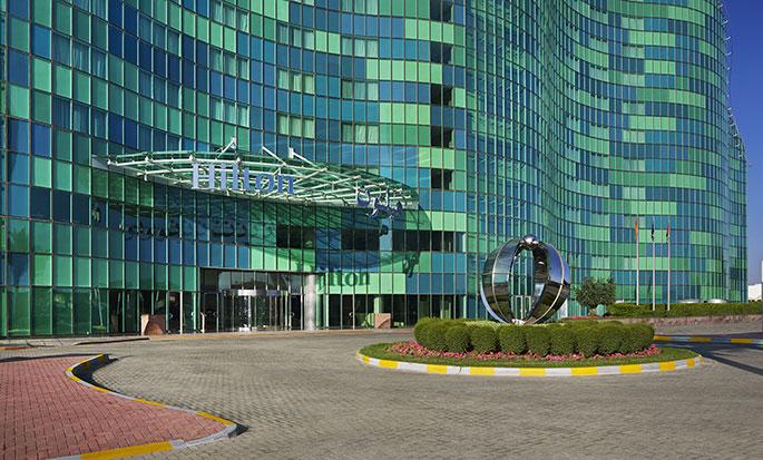 Hotel Hilton Capital Grand Abu Dhabi, EAU - Esterno hotel
