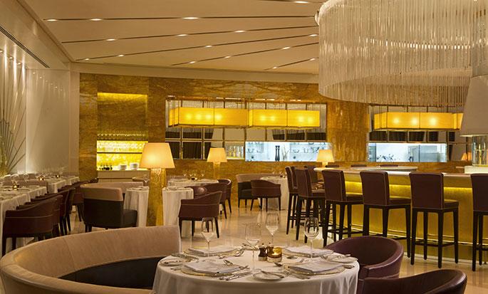 Hotel Hilton Capital Grand Abu Dhabi, EAU - Ristorante Oro