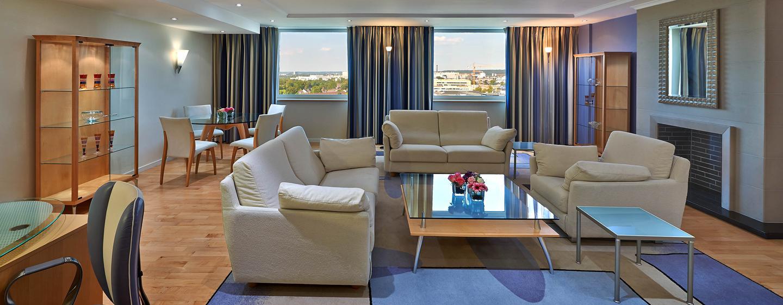 Hilton Dusseldorf, Germania - Suite Ambassador