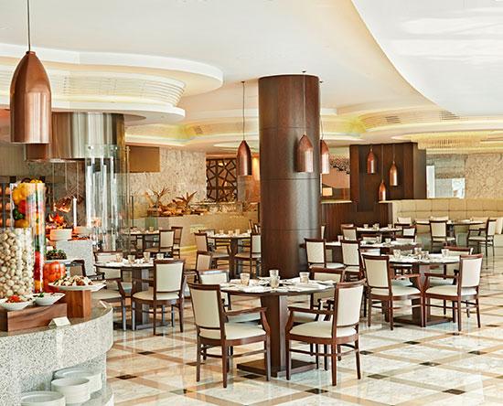 Hotel Waldorf Astoria Dubai Palm Jumeirah, EAU - Mezzerie