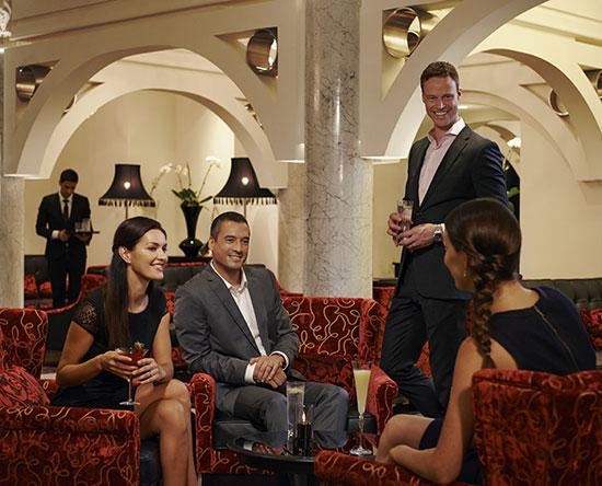 Hotel Waldorf Astoria Dubai Palm Jumeirah, EAU - Serafina Bar