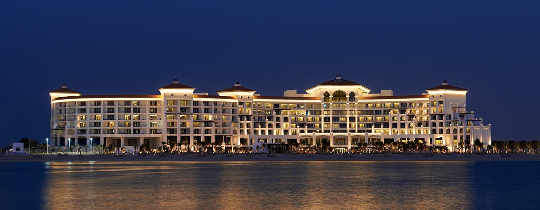 Hotel Waldorf Astoria Dubai Palm Jumeirah, EAU - Esterno dell'Hotel di notte