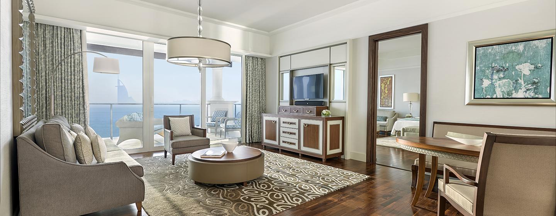 Hotel Waldorf Astoria Dubai Palm Jumeirah, EAU - Soggiorno della Suite Deluxe
