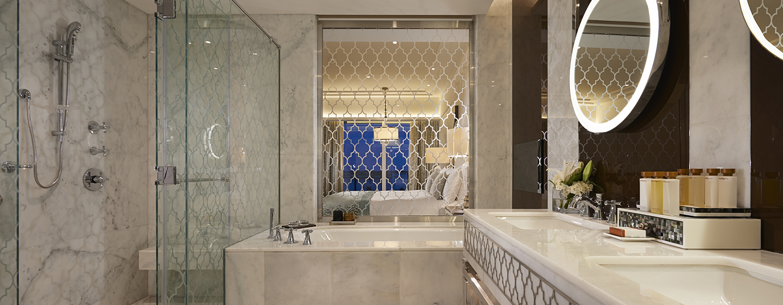 Hotel Waldorf Astoria Dubai Palm Jumeirah, EAU - Bagno della camera