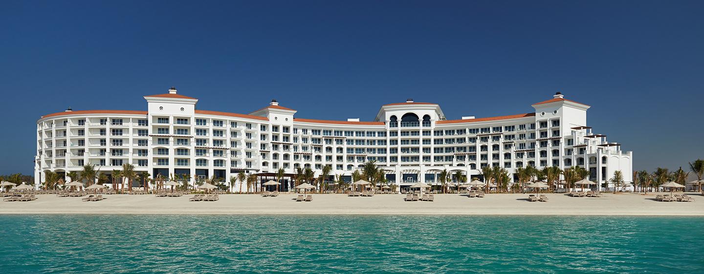 Hotel Waldorf Astoria Dubai Palm Jumeirah, EAU - L'esterno dell'hotel e la sua spiaggia
