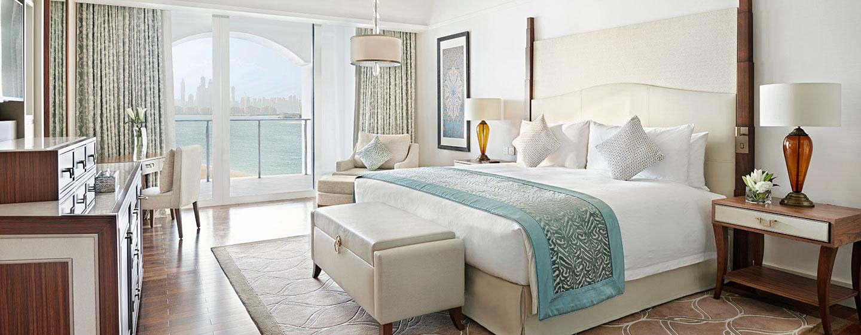 Hotel Waldorf Astoria Dubai Palm Jumeirah, EAU - Camera Deluxe con letto king size