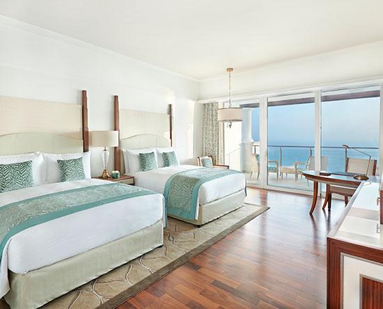 Hotel Waldorf Astoria Dubai Palm Jumeirah, EAU - Camera Premier con due letti queen size e accesso alla lounge