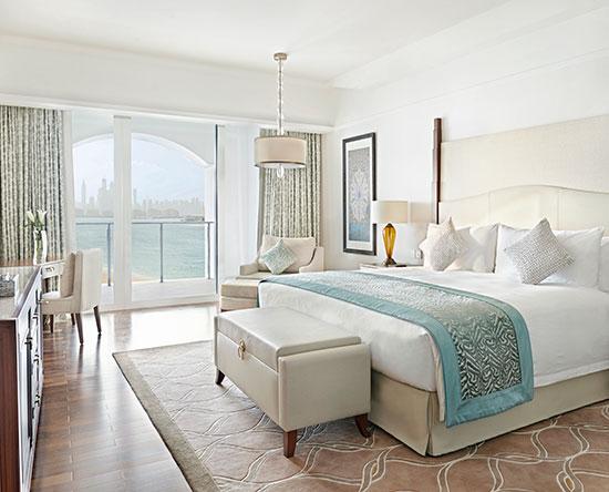 Hotel Waldorf Astoria Dubai Palm Jumeirah, EAU - Premier Suite con letto king size e accesso alla lounge