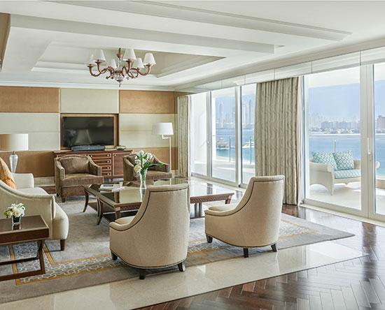 Hotel Waldorf Astoria Dubai Palm Jumeirah, EAU - Suite presidenziale