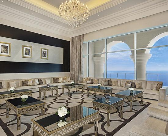 Hotel Waldorf Astoria Dubai Palm Jumeirah, EAU - Suite Reale