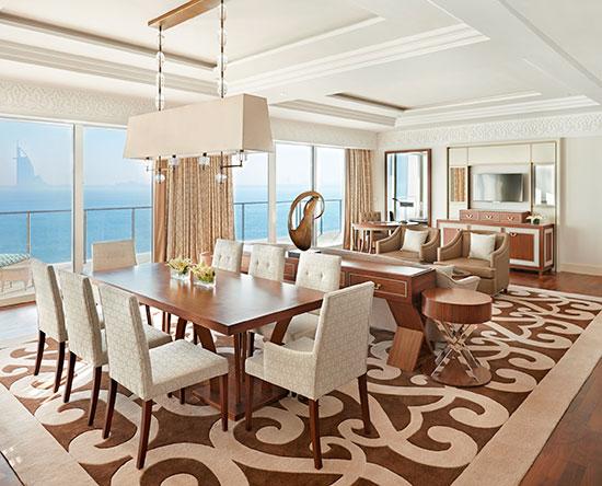 Hotel Waldorf Astoria Dubai Palm Jumeirah, EAU - Suite Waldorf Astoria con accesso alla lounge