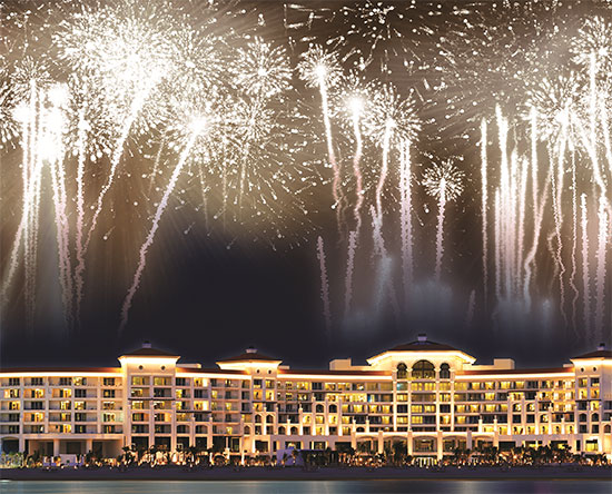 Hotel Waldorf Astoria Dubai Palm Jumeirah, EAU - Una location per matrimoni idilliaca