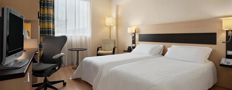 Hotel Hilton Garden Inn Rome Airport, Italia - Camera Evolution con letti separati