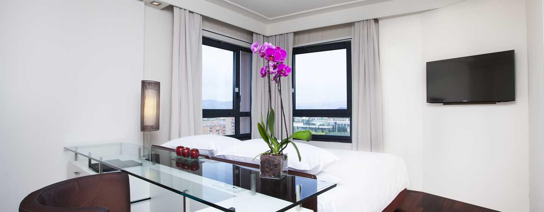 Hotel Hilton Florence Metropole, Italia - Camera d'angolo con vista sulla città