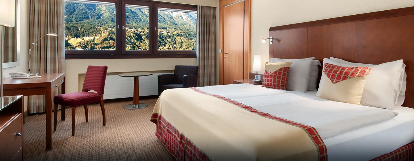 Hotel Hilton Innsbruck, Austria - Suite Business con letto king size