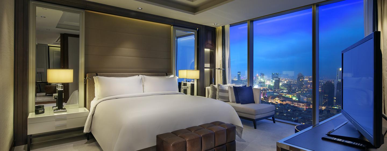 Hilton Istanbul Bomonti Hotel & Conference Center, Turchia - Camera da letto principale della Suite Bomonti